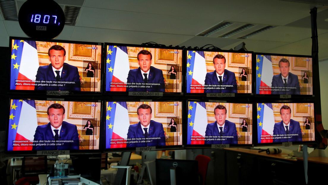 Francia extiende confinamiento hasta el 11 de mayo