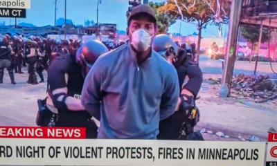 CNN, Arrestan, Periodista, Protestas, Jimenez, Minneapolis, Racismo, George, Floyd, Transmisión, Vivo,