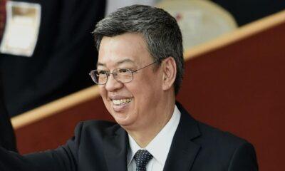Chen Chienjen, vicepresidente de Taiwán, epidemiólogo que atiende la pandemia