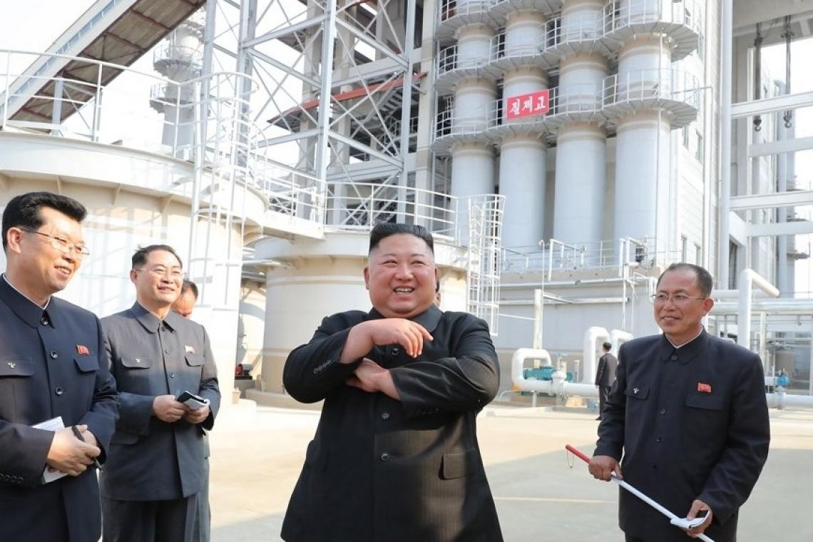 Líder de Corea del Norte reaparece tras ausentarse por su salud