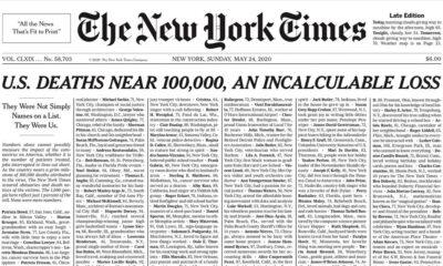 Causa revuelo portada de The New York Times