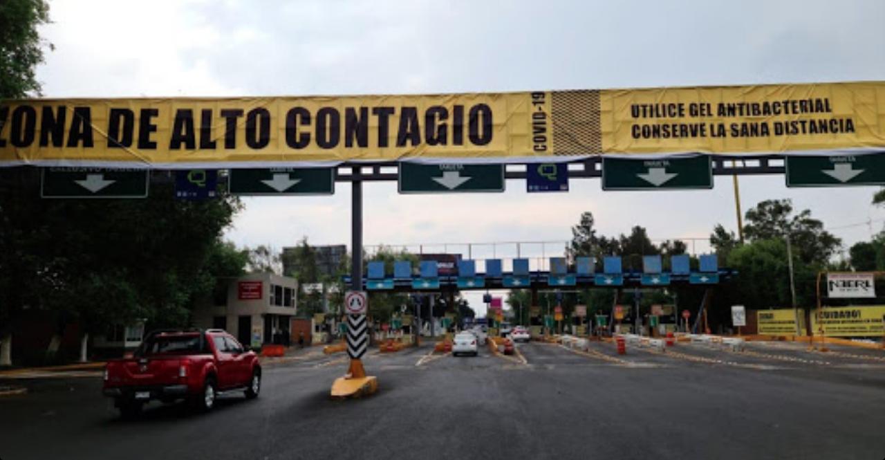 Zonas, Alto, contagio, Peligro, CDMX, Ciudad de México, Mercados, Metro, Metrobús, Cetram, Gobierno, Autoridades Sanitarias, Letreros,