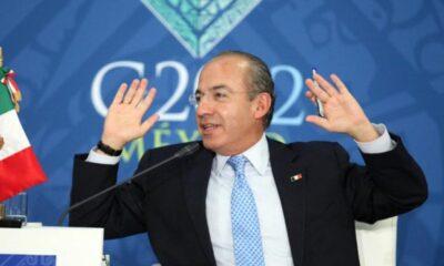 Calderón se regodea con proyección del FMI sobre México