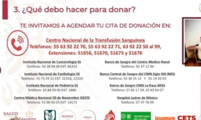 SSA anuncia estrategia para el abastecimiento de sangre