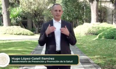 """""""La epidemia no ha terminado"""", afirma López-Gatell"""