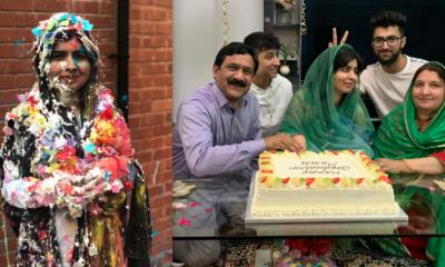 Malala, Universidad, Oxford, Estudios, Celebra, Festeja, Feliz, Premio, Nobel, Paz,