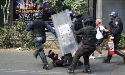Dictan prisión preventiva a dos policías involucrados con agresión a joven