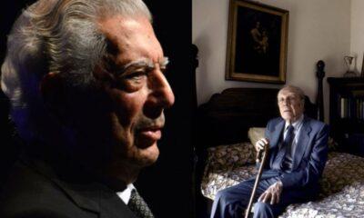 Revelan entrevista de Vargas Llosa a Jorge Luis Borges