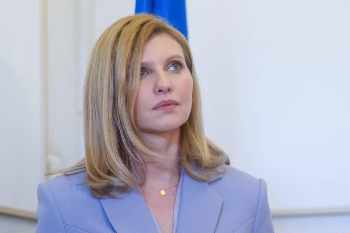 Primera dama de Ucrania da positivo a Covid-19