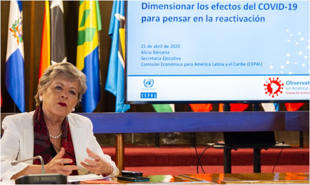 Cepal estima contracción de -9.1 % del PIB en América Latina y el Caribe
