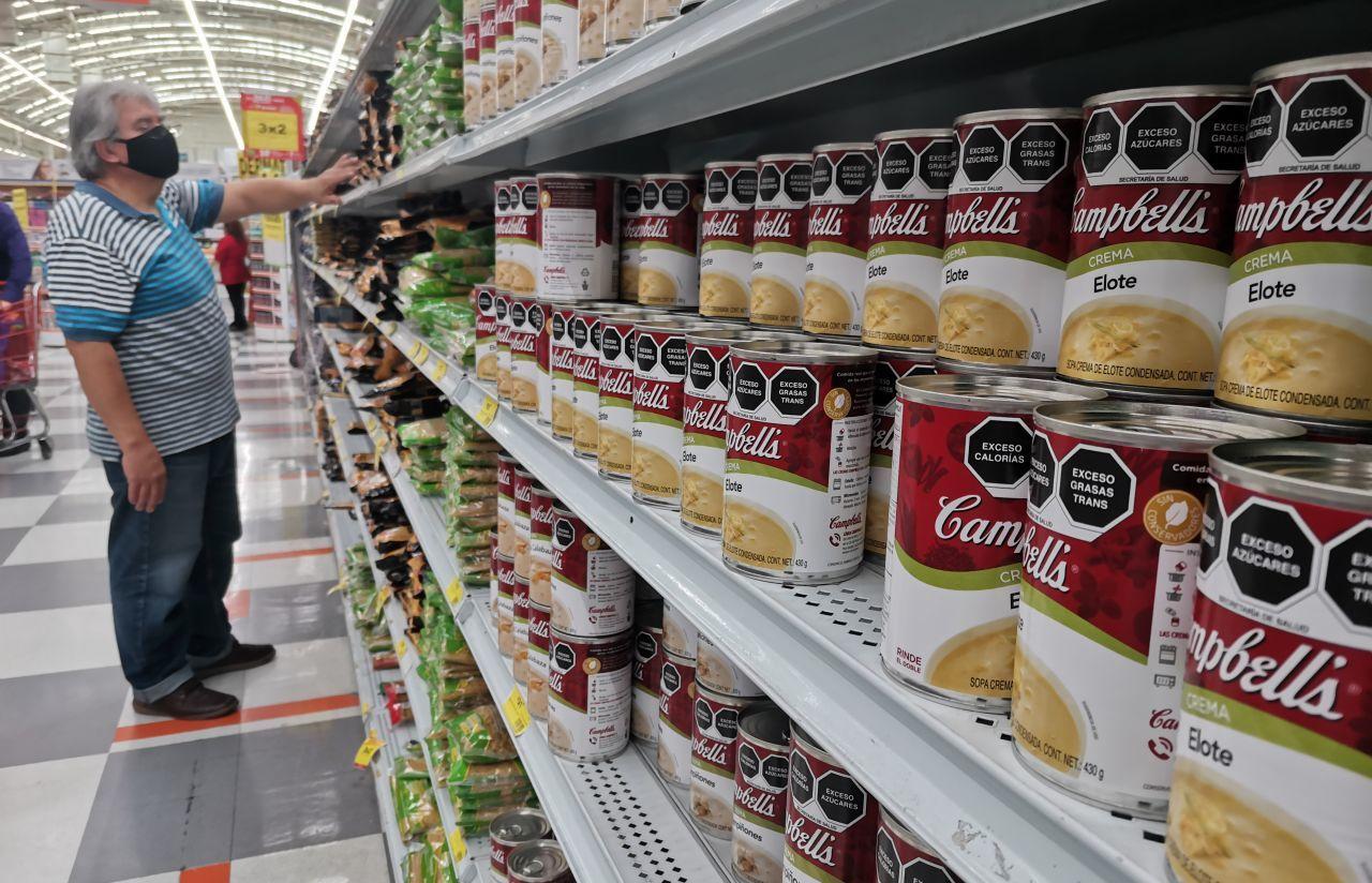 Empresas utilizan nuevo etiquetado frontal en productos comestibles