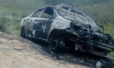 Queman a dos sujetos en Veracruz; presuntamente eran defraudadores