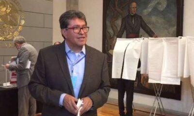 Monreal llama a legisladores a votar por el presidente del Senado