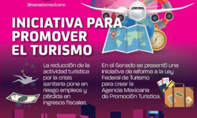 Presentan en el Senado iniciativa para crear la agencia de promoción turística