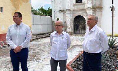 AMLO informa sobre avances del programa de reconstrucción
