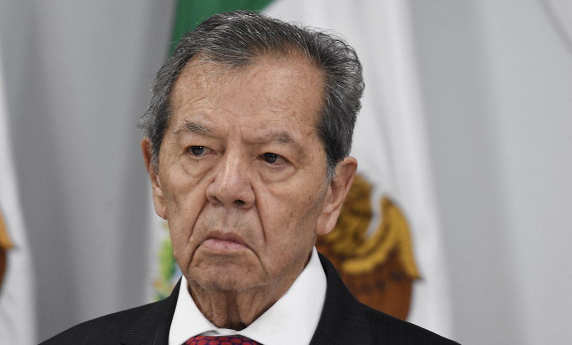 Muñoz Ledo expone que el INE cometió desacato en proceso de elección en Morena