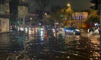 Lluvias en la CDMX provocan inundaciones y brotes de aguas negras