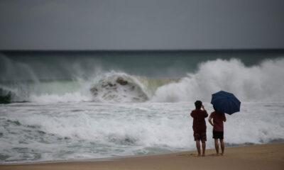 Tifón Maysak causa daños en las dos Coreas
