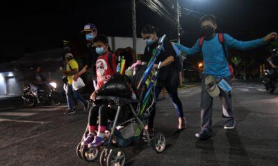 CNDH solicita al gobierno protección de DDHH en la caravana migrante