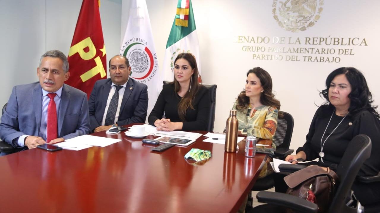 Geovanna Bañuelos informó la posición del PT en el Senado sobre los fideicomisos