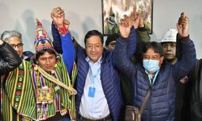 Ganador de la elección de Bolivia