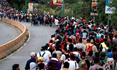 Migrantes desisten de la caravana tras medidas de prisión en México