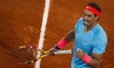 Rafael Nadal gana en Roland Garros; iguala a Federer en copas Grand Slam