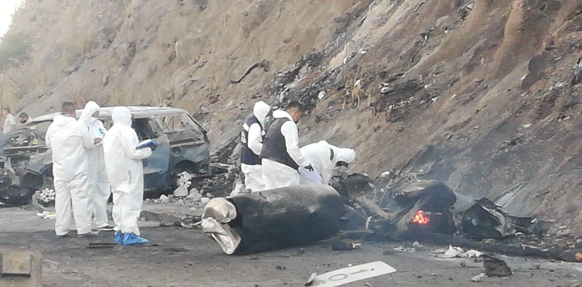 FGE de Nayarit confirma 13 muertes por explosión de pipa