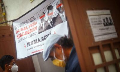 PRD critica a Morena por firmas de difuntos en consulta para juicio a expresidentes