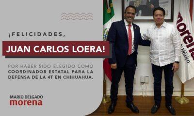 Anuncia Delgado a diputado Carlos Loera como candidato a gubernatura de Chihuahua