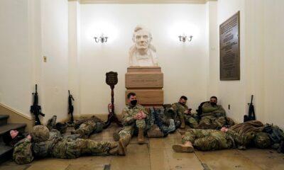 Ejército resguarda el Capitolio a 7 días de la investidura de Biden