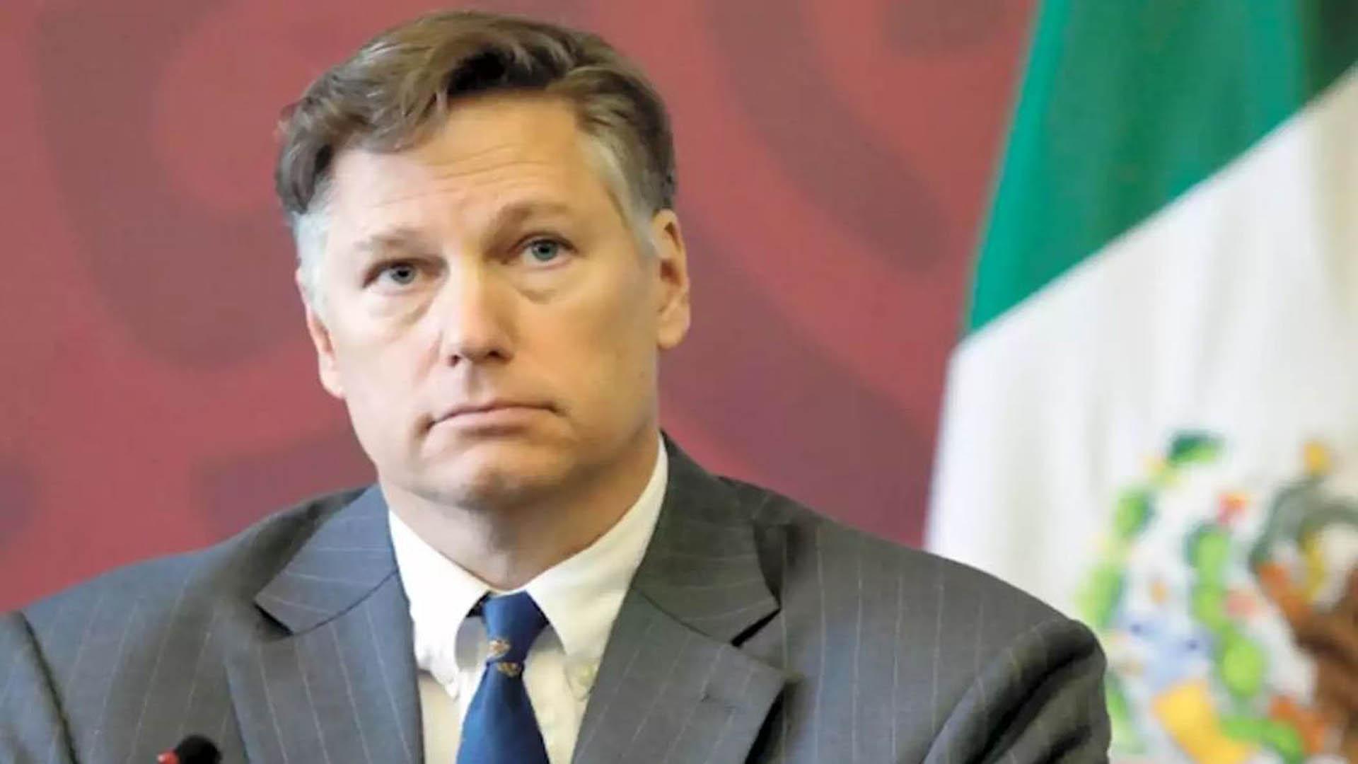 Despide Embajada de EU en MX a Christopher Landau tras año y medio de gestión