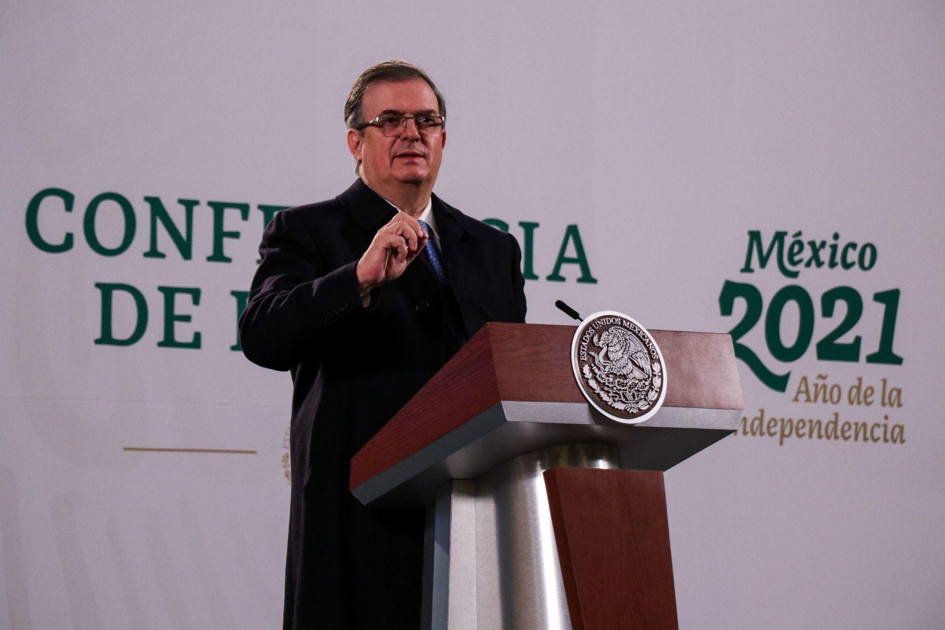 Marcelo Ebrard da negativo a prueba Covid; el miércoles se hará otro examen