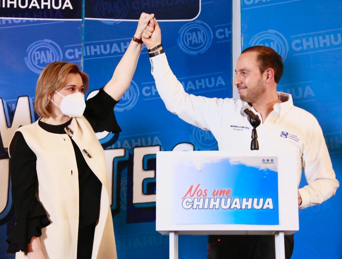 Maru Campos es la candidata del PAN a la gubernatura de Chihuahua