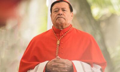Hospitalizan al cardenal Norberto Rivera por Covid-19