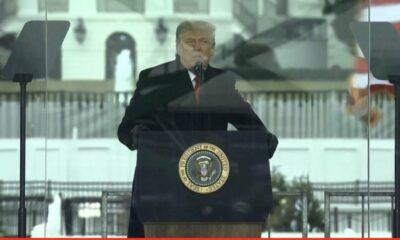 Ante una turba, Trump proclama que nunca aceptará la victoria de Biden