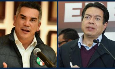 Alejandro Moreno reta a Mario Delgado a debatir; este lo rechaza
