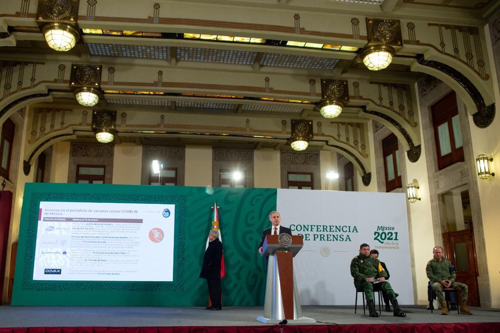 México adquirirá hasta 24 millones de dosis de vacuna rusa Sputnik V