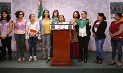 """""""Hay avances para despenalización del aborto"""": diputadas de Morena a AMLO"""