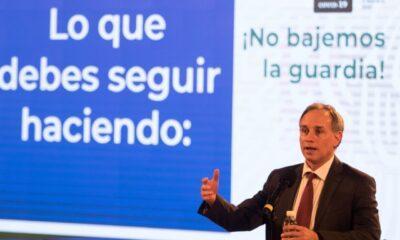 AMLO ha mostrado buena salud y continúa asintomático a Covid-19, afirma López-Gatell