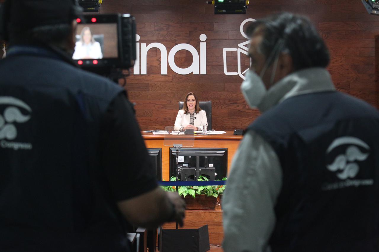 Desaparecer al Inai minaría acceso a la información: Blanca Ibarra