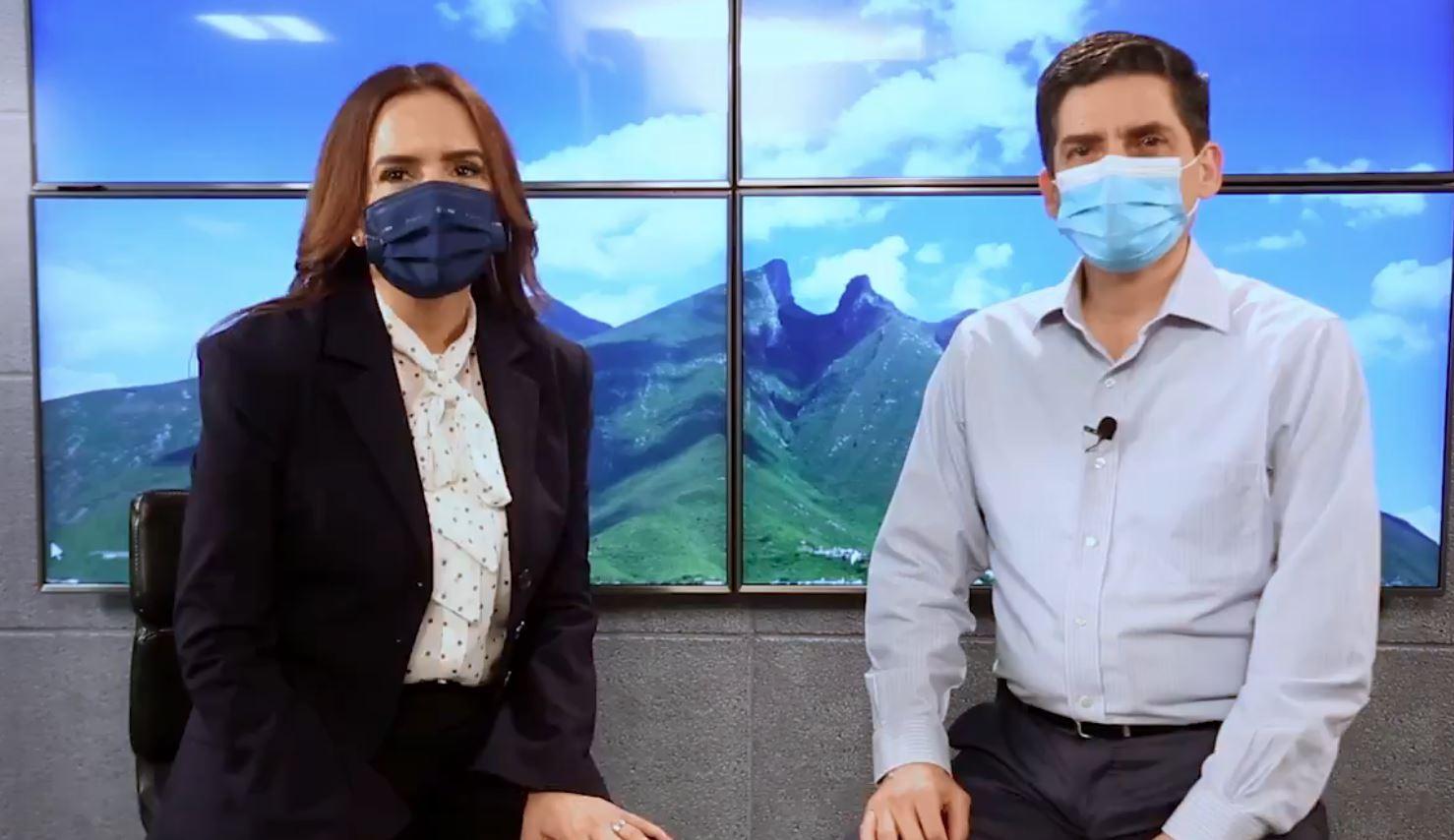 Clara Luz Flores recibe a Felipe Cantú en Morena Nuevo León