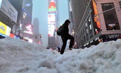 Nueva York en estado de emergencia por tormenta de nieve
