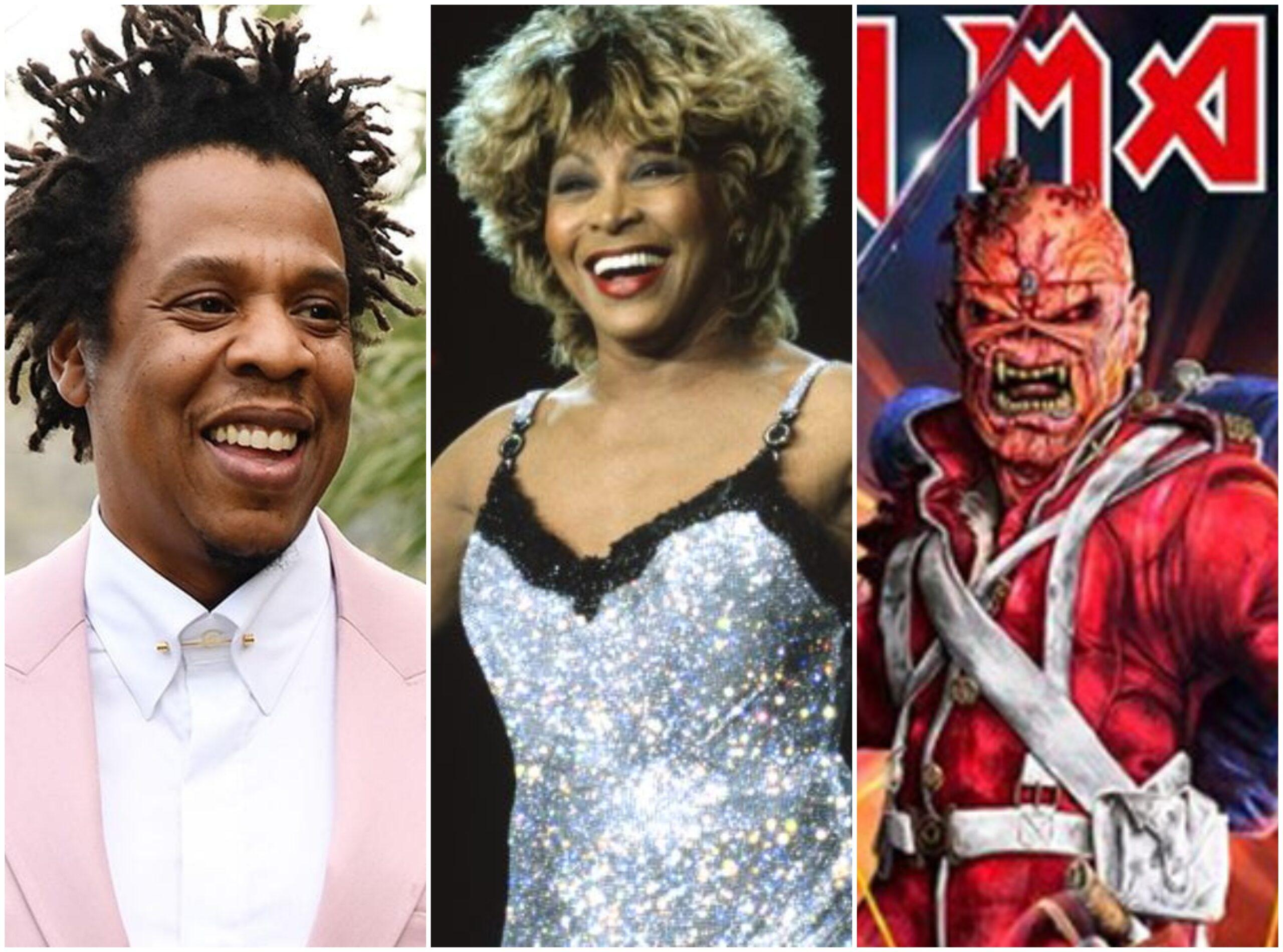 Tina Turner, Iron Maiden y Yay-Z, entre nominados al Salón de la Fama del Rock