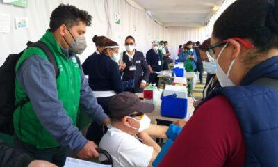Sheinbaum informa que son más de 7 mil personas vacunadas en CDMX