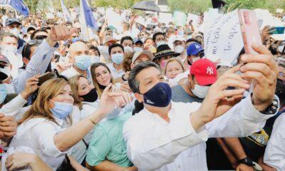 PRI-Tamaulipas acusa a García Cabeza de Vaca de acarreo para su marcha