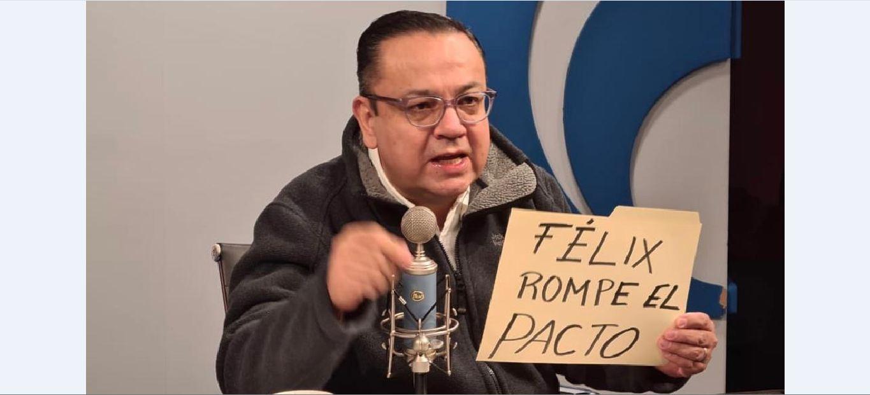 #FélixRompeElPacto: Germán Martínez pide a Salgado Macedonio renunciar a la candidatura