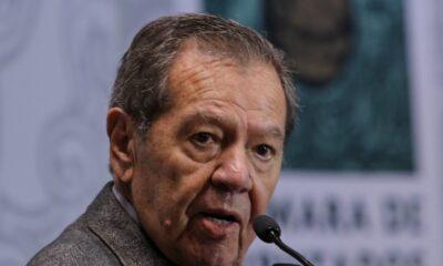 Acusa Muñoz Ledo de veto en Morena para relección en la Cámara de Diputados
