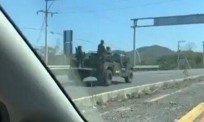 Balacera en Guayabitos
