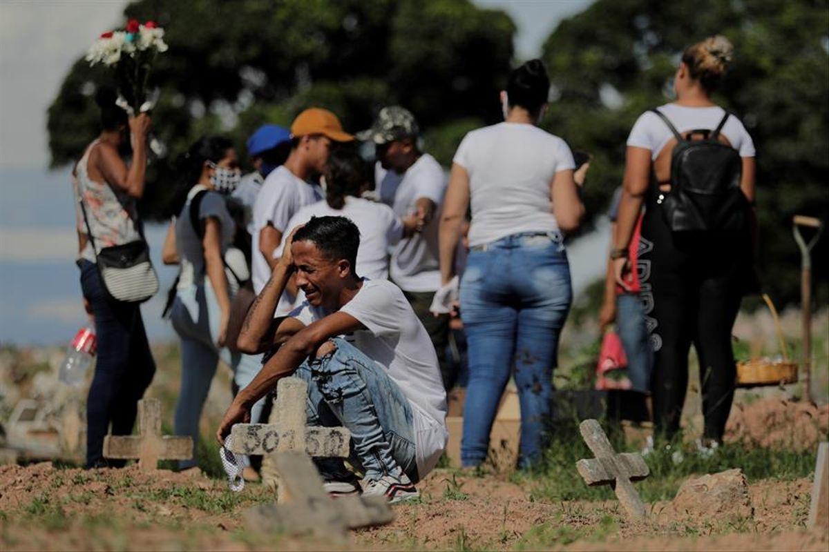 Reporta Brasil 2,841 muertes por Covid en 24 horas